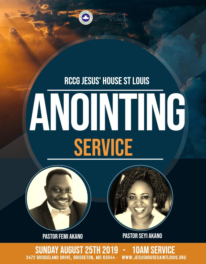 anointing service